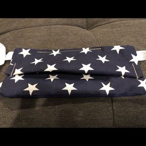 NEW 2 face masks US STARS homemade - SET OF TWO